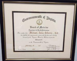 Virginia Diploma